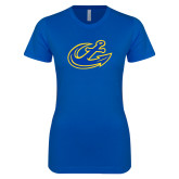 Next Level Ladies SoftStyle Junior Fitted Royal Tee-Anchor