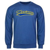 Royal Fleece Crew-Mariners Script