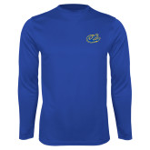 Syntrel Performance Royal Longsleeve Shirt-Anchor