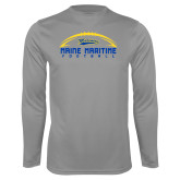 Syntrel Performance Steel Longsleeve Shirt-Arched Football Design