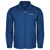 Full Zip Royal Wind Jacket-Mariners Script