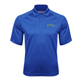 Royal Textured Saddle Shoulder Polo-Mariners Script