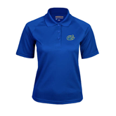 Ladies Royal Textured Saddle Shoulder Polo-Anchor