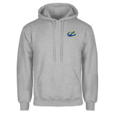 Grey Fleece Hoodie-Anchor