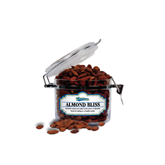 Almond Bliss Small Round Canister-Mariners Script