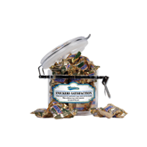Snickers Satisfaction Small Round Canister-Mariners Script