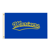 3 ft x 5 ft Flag-Mariners Script