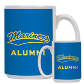 Alumni Full Color White Mug 15oz-Mariners Script