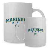 Dad Full Color White Mug 15oz-Mariners Script