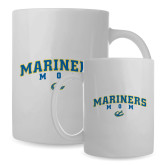Mom Full Color White Mug 15oz-Mariners Script