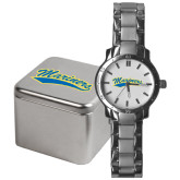 Mens Stainless Steel Fashion Watch-Mariners Script