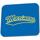 Full Color Mousepad-Mariners Script