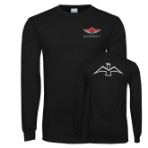 Black Long Sleeve T Shirt-Primary Mark