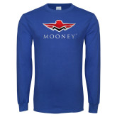 Royal Long Sleeve T Shirt-Primary Mark