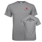 Grey T Shirt-Primary Mark