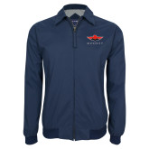 Navy Players Jacket-Solid Color Mark