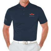 Callaway Opti Vent Navy Polo-Solid Color Mark