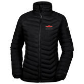 Columbia Lake 22 Ladies Black Jacket-Solid Color Mark