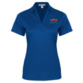 Ladies Royal Performance Fine Jacquard Polo-Solid Color Mark