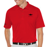 Callaway Opti Dri Red Chev Polo-Solid Color Mark