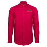 Red House Red Long Sleeve Shirt-Solid Color Mark