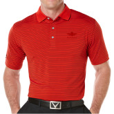 Callaway Core Stripe Red/Black Polo-Primary Mark