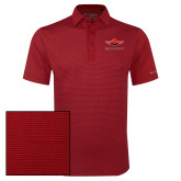 Columbia Red Omni Wick Sunday Golf Polo-Solid Color Mark