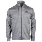 Callaway Stretch Performance Heather Grey Jacket-Solid Color Mark