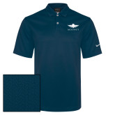 Nike Sphere Dry Pro Blue Diamond Polo-Solid Color Mark