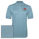 Light Blue Dry Mesh Polo-Solid Color Mark