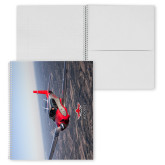 College Spiral Notebook w/Clear Coil-Aircraft 2