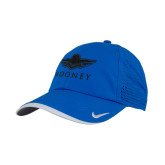 Nike Dri Fit Royal Perforated Hat-Primary Mark