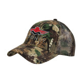 Camo Pro Style Mesh Back Structured Hat-Solid Color Mark