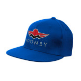 Royal OttoFlex Flat Bill Pro Style Hat-Solid Color Mark