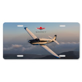 License Plate-Aircraft 6