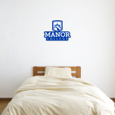 1 ft x 1 ft Fan WallSkinz-Manor College Logo