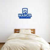 2 ft x 2 ft Fan WallSkinz-Manor College Logo