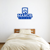 3 ft x 3 ft Fan WallSkinz-Manor College Logo