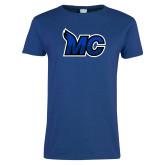 Ladies Royal T-Shirt-MC Logo