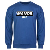 Royal Fleece Crew-Manor Dad