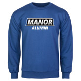 Royal Fleece Crew-Manor Alumni