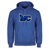 Royal Fleece Hoodie-MC Logo
