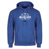 Royal Fleece Hoodie-Soccer Design