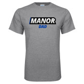 Grey T Shirt-Manor Dad