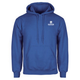 Royal Fleece Hoodie-Secondary Logo