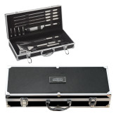 Grill Master Set-Manor Flat Word-mark  Engraved