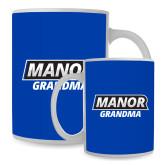 Full Color White Mug 15oz-Manor Grandma