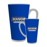 Full Color Latte Mug 17oz-Manor Grandma