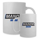 Mom Full Color White Mug 15oz-Manor Mom