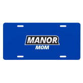 License Plate-Manor Mom